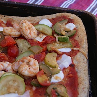 Shrimp Margherita Pizza