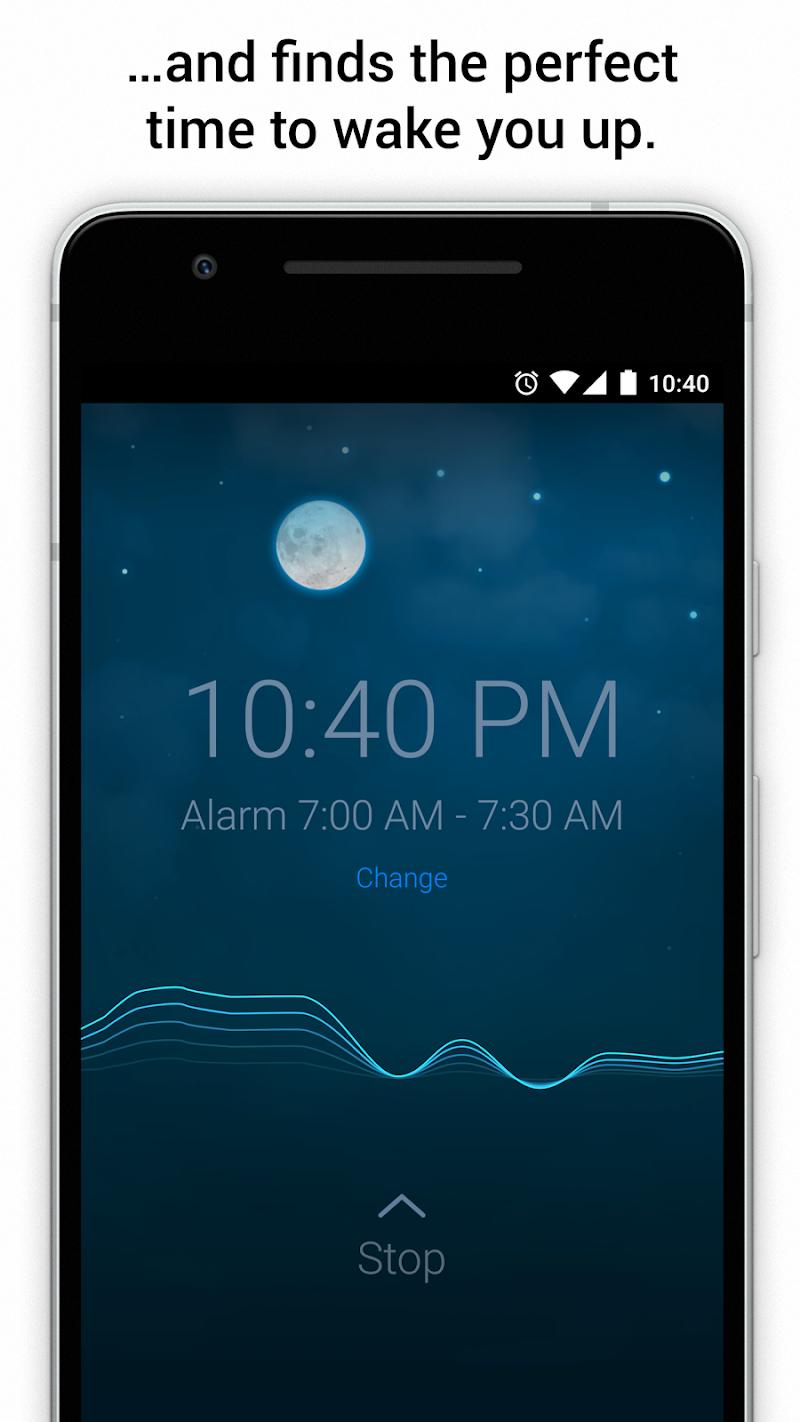 Sleep Cycle alarm clock Screenshot 1