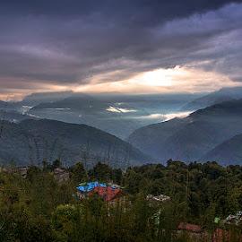by Bubun Chakra - Landscapes Mountains & Hills