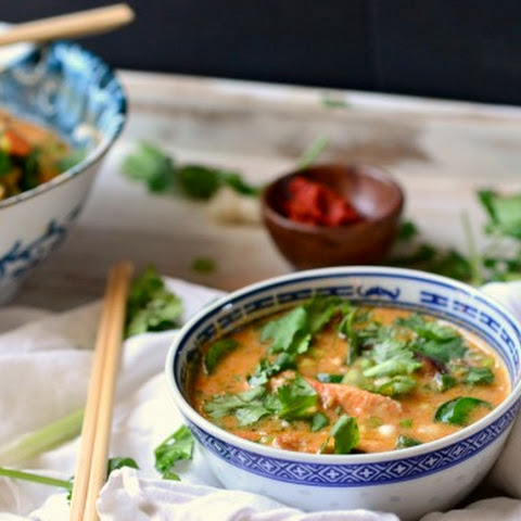 Crock Pot Spicy Thai Curry Soup