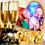 2018 New Year Frames Icon