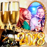 2018 New Year Frames on PC / Windows 7.8.10 & MAC