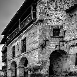 Rural by Jose Maria Vidal Sanz - Buildings & Architecture Homes ( home, black and white, rural, street photography )