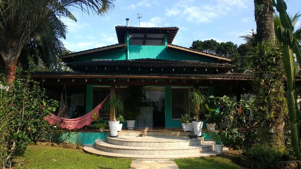 Casa residencial à venda, Horto Florestal, Ubatuba.