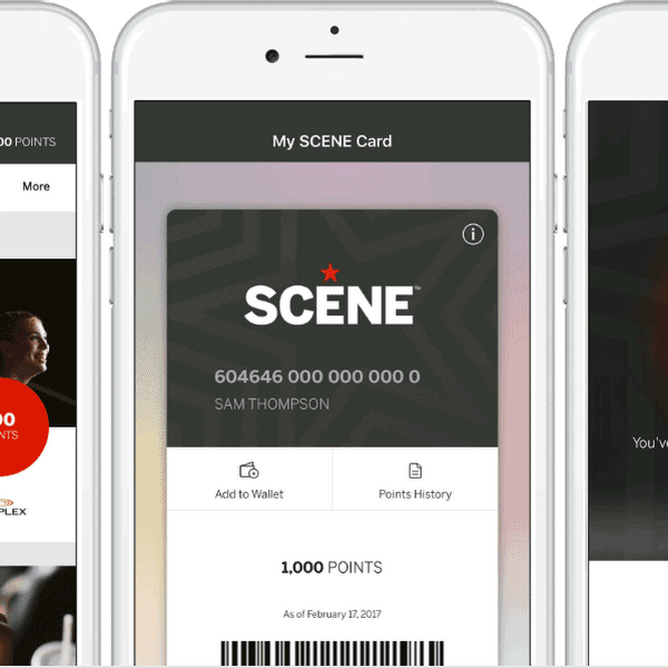 SCENE Mobile App, iOS, and Android, Plastic Mobile