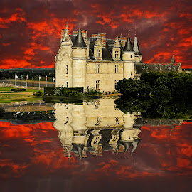 Amboise castle by Gérard CHATENET - Buildings & Architecture Other Exteriors