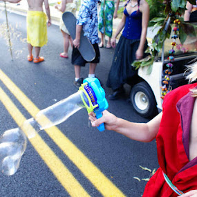 Sinjin by Kevin Sullivan - Babies & Children Children Candids ( bubbles, fest, kid )
