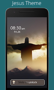 Jesus Advance Lock Screen - screenshot