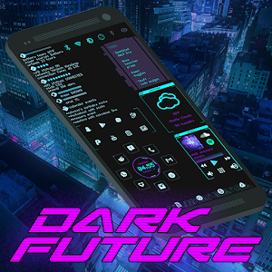 Dark Future Theme for KLWP For PC / Windows 7/8/10 / Mac – Free Download