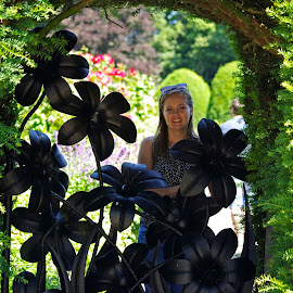 Garden Gate by Ingrid Anderson-Riley - People Fashion