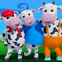 five little cows And nursery rhymes