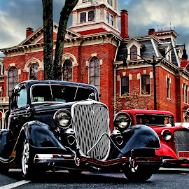 Gillespie's Rods by JEFFREY LORBER - Transportation Automobiles ( monroe, lorberphoto, v-8, rust 'n chrome, jeff lorber, hot rod, ford, jeffrey lorber, car photo )