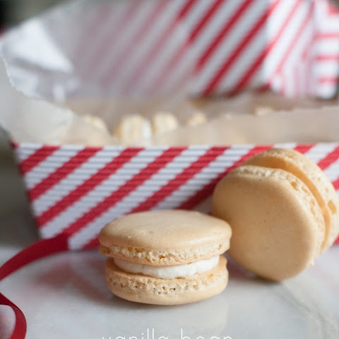 French Vanilla Almond Macarons