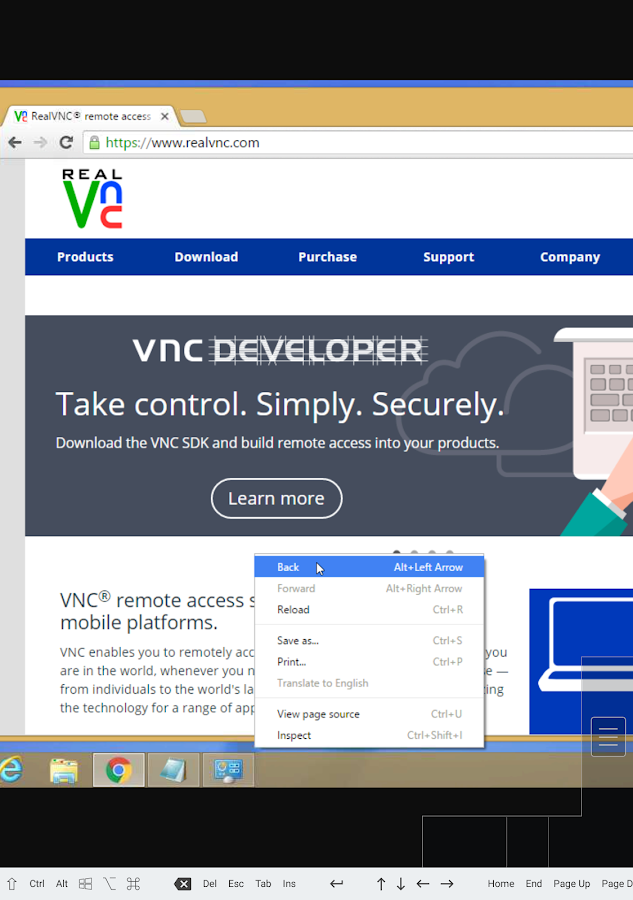 VNC Viewer Screenshot 13