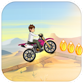 Download Jungle Ben Bike Racing Game APK on PC