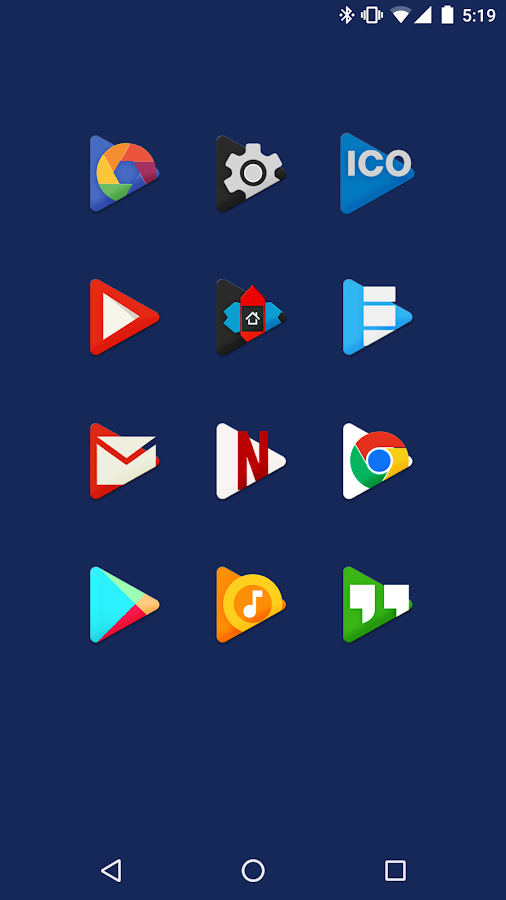 PLAY - Icon Pack Screenshot 1