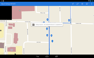 Screenshot of GR Walks