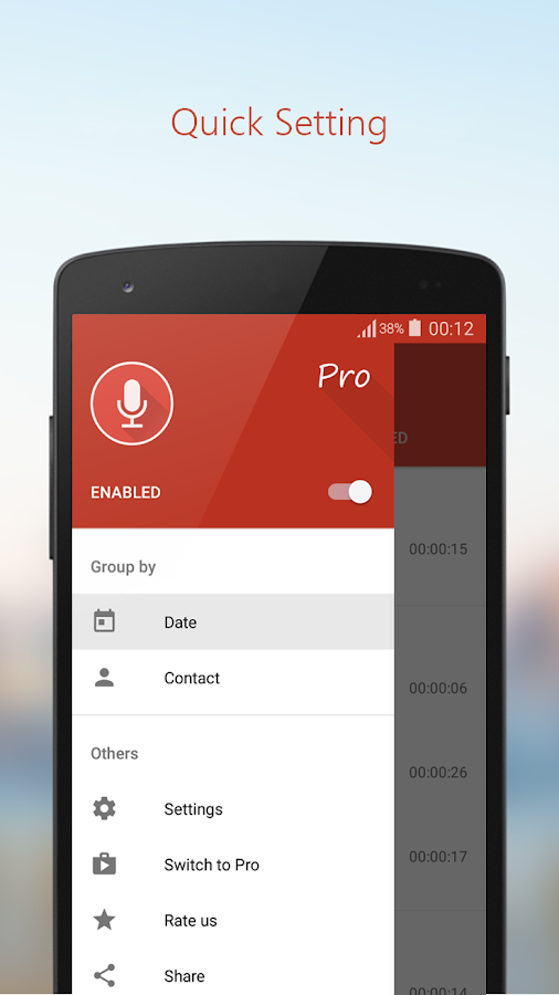 Call Recorder Pro Screenshot 3