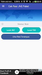 App Cek Resi JNE Paket apk for kindle fire