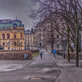 Stockholm by Stratos Lales - City,  Street & Park  Neighborhoods ( sweden, stockholm, neighborhood, streeet, city )