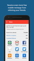 screenshot of mCent - Free Mobile Recharge