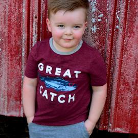 Yea, I'm cool by Diane Davis - Babies & Children Child Portraits ( modeling, boy )