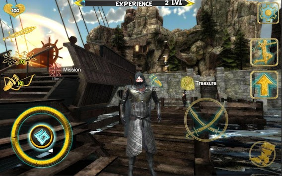 Ninja Samurai Assassin Hero IV Medieval Thief APK screenshot thumbnail 4