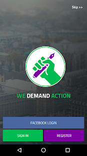 We Demand Action - screenshot