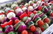 Mixed Veg Kebabs - By The London Hog Roast Company