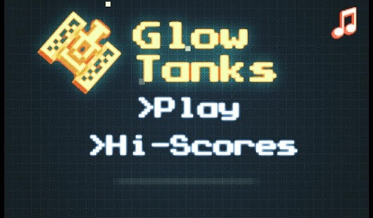 Glow Tanks Nato - screenshot