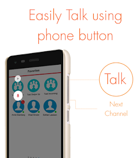 Wearable Talkie: VoicePing - screenshot