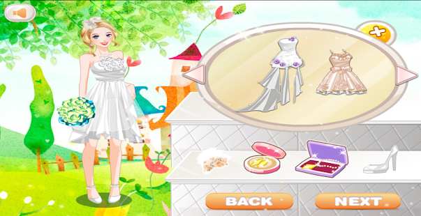 Dress up wedding and make up- screenshot thumbnail
