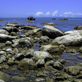 ROCKY SHORE by Rogz Necesito Jr. - Landscapes Beaches