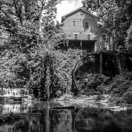 Falls Mill by John Ray - Buildings & Architecture Public & Historical ( bed & breakfast, falls mill, d3200, nikon d3200, nikon )