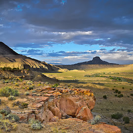 Cabazon Vista by Shawn Thomas - Landscapes Deserts