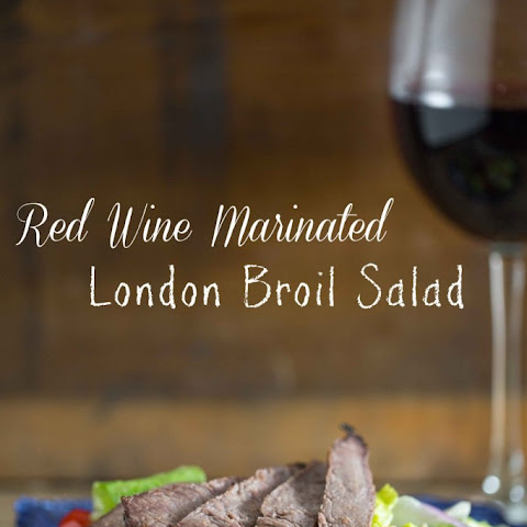 Red Wine London Broil Salad