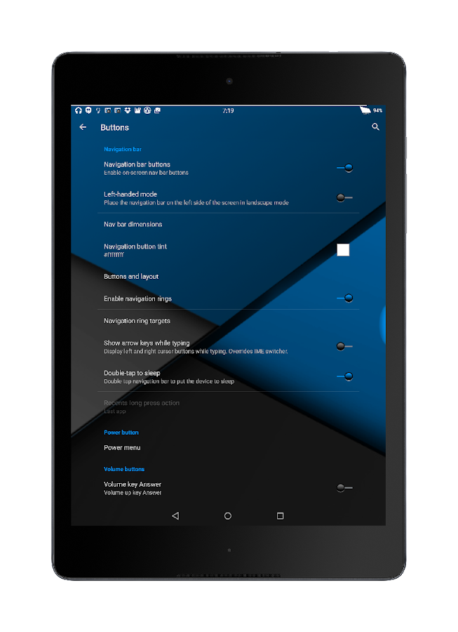 Blu XS CM12-13 Theme Screenshot 9