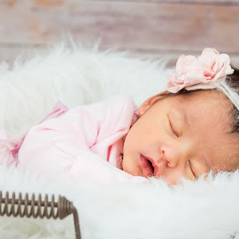 Sleeping Beauty by Jenny Hammer - Babies & Children Babies ( baby, girl, sweet, cute, sleeping )
