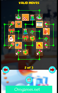 Onet connect merry christmas - screenshot