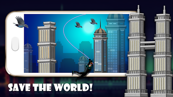Spider Hero Fly - screenshot