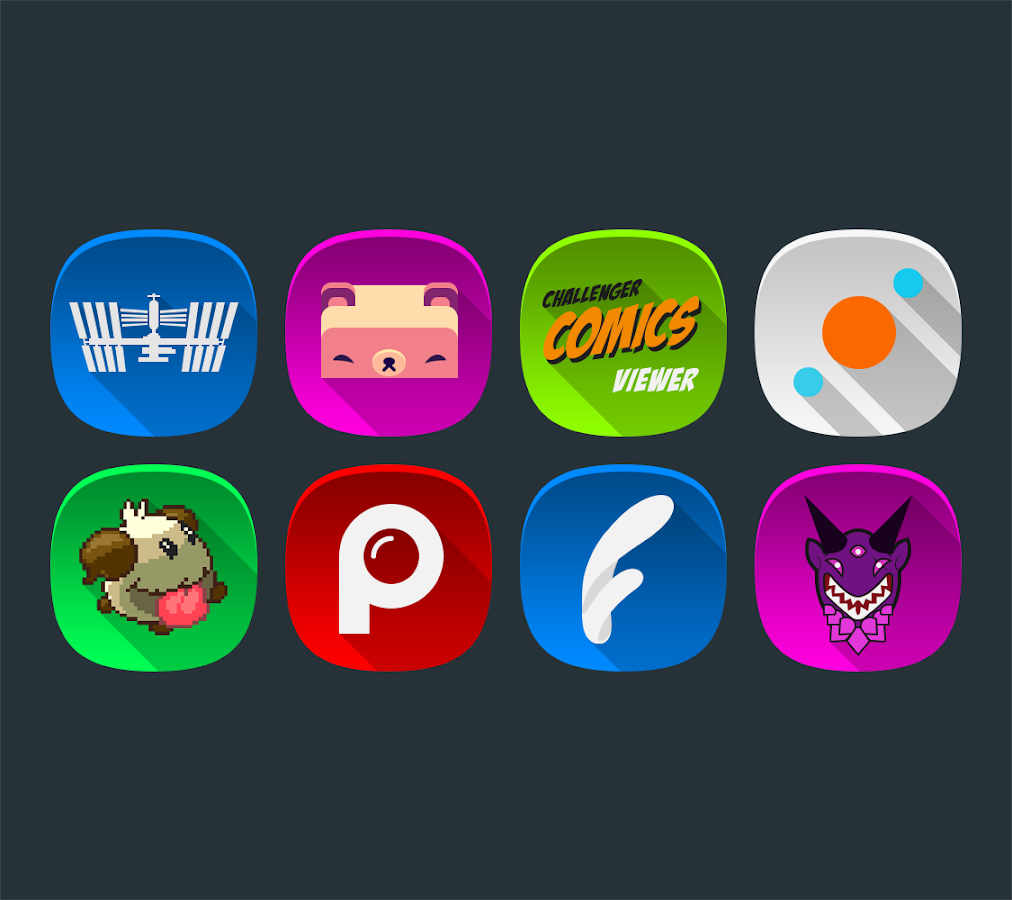 Annabelle UI - Icon Pack Screenshot 1