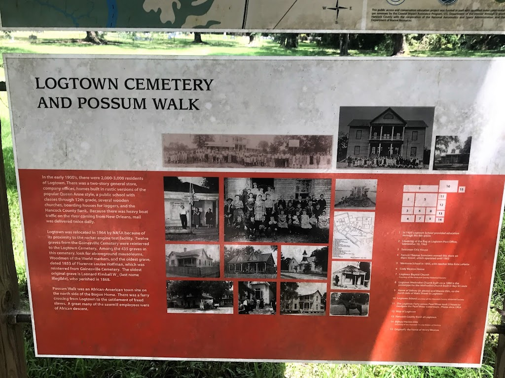 In the early 1900's, there were 2,000-3,000 residents of Logtown. There was a two-story general store, company offices, homes built in rustic versions of the popular Queen Anne style, a public school ...
