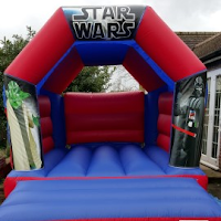 STAR WARS BOUNCY CASTLE FOR HIRE