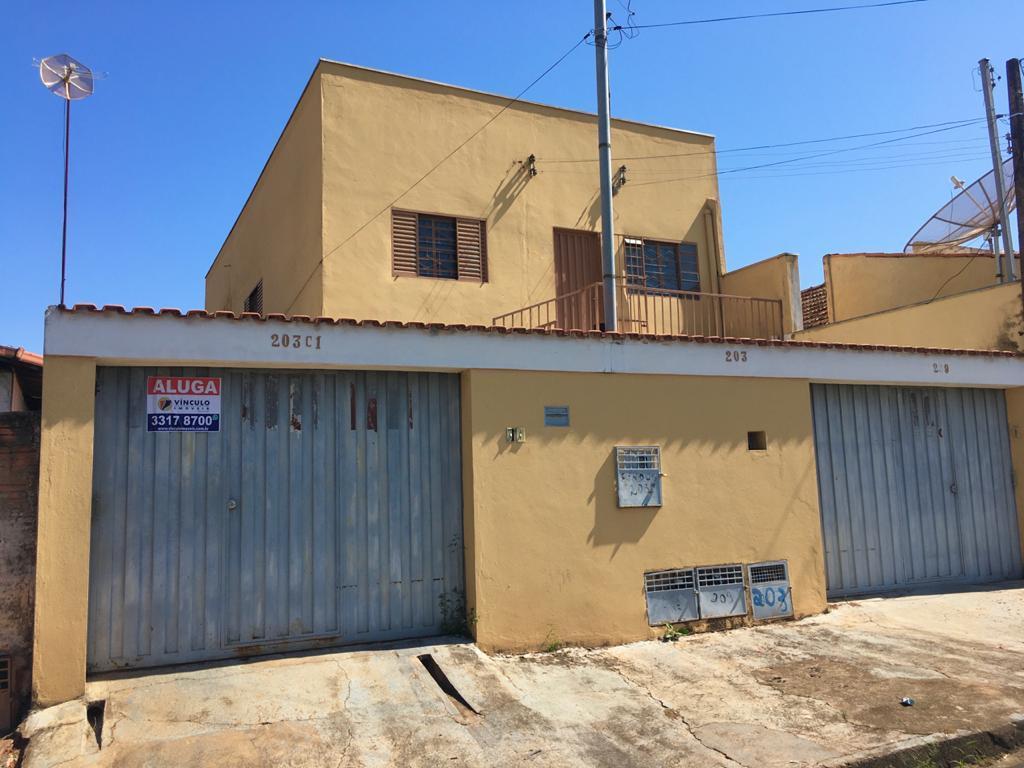 Casa com 1 dormitório para alugar, 40 m² por R$ 400,00/mês - Quinta Boa Esperança - Uberaba/MG