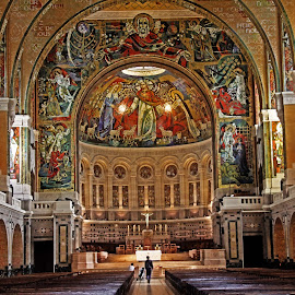 Basilica interior by Michael Moore - Buildings & Architecture Places of Worship