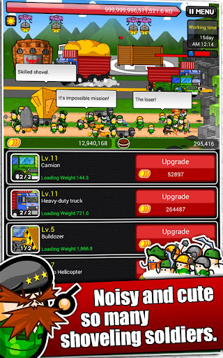 Shovel Commandos - screenshot