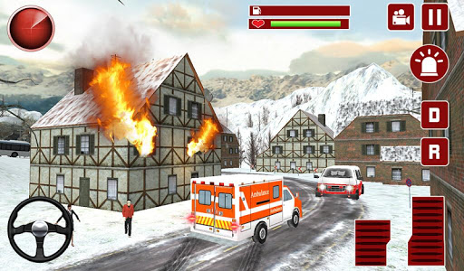 911 Emergency Ambulance Driver - screenshot