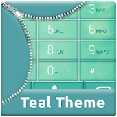 App Teal Dialer Theme APK for Kindle
