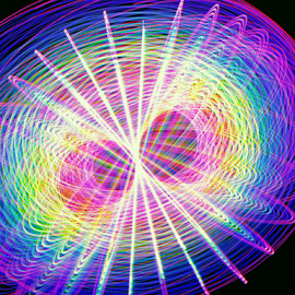 Light sight by Jim Barton - Abstract Patterns ( sight, light sight, laser light, colorful, light design, laser design, laser, laser light show, light, science )