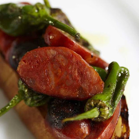 Spicy Spanish Chorizo, Padron Peppers and Aioli